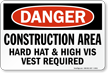 OSHA PPE Required Danger Sign
