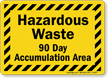 Hazardous Chemical Sign