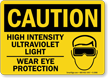 Wear PPE OSHA Caution Sign