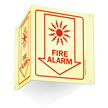Fire Alarm Projecting Glow Sign