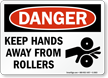 OSHA Machine Hazards Sign