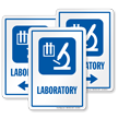 Medical Lab Sign
