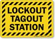 Lockout Sign