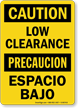 OSHA Bilingual Caution / Precaucion Sign