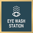 Marquis Eye Wash Sign, 6in. x 6in.