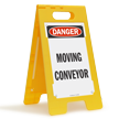 FloorBoss XL™ OSHA Danger Free-Standing Floor Sign