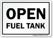 Fuel Safety Sign