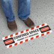 SlipSafe™ and GripGuard™ Slip-Resistant Sign, 6in. X 24in.