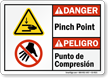 Bilingual ANSI Danger / Peligro Sign