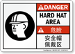 Bilingual ANSI Danger Sign