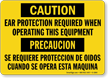 Caution / Precaucion Sign