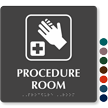9in. x 9in. TactileTouch™ Braille Sign