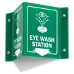 Eyewash Projecting Sign