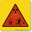 Radiation Dangers Sign