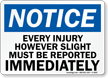 OSHA Notice Safety Sign