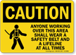 OSHA Caution Sign