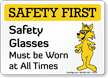 Safety First Fox Sign