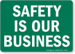 Safety Slogan Sign