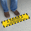 SlipSafe™ Floor Safety Sign, 6in. x 24in.