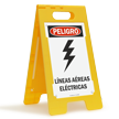 FloorBoss XL™ Spanish Danger Sign