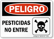 Spanish Danger Sign