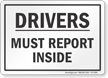 Truck Drivers Sign