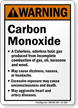 Carbon Monoxide Sign
