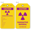 Double-Sided Radiation Tag (Write-On)