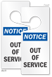 2-Sided Notice Door Hanger