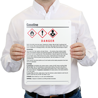 Highly Flammable Liquid GHS Sign